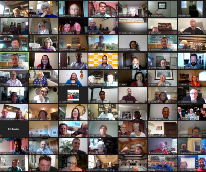 At Founder's Day 2021, participants gathered on Zoom from all over the world.