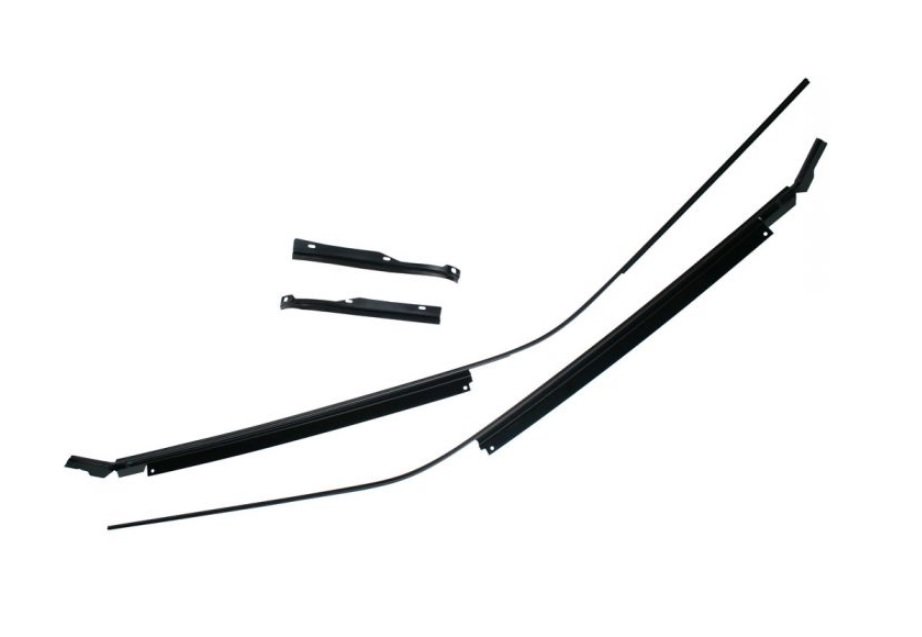 1969 1970 Mustang Fastback Drip Rail Channel 4 Piece Set