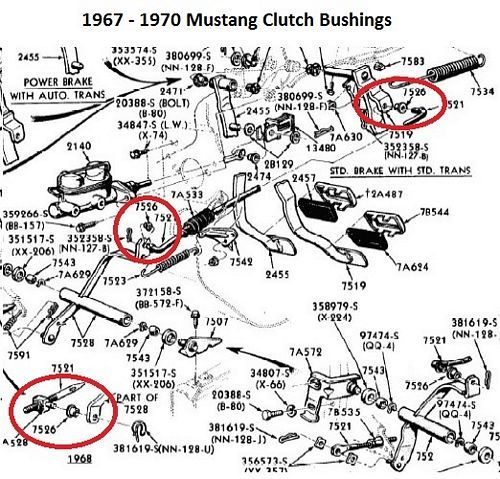 1965 mustang engine diagram