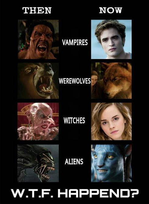 vampires-aliens-then-vs-now