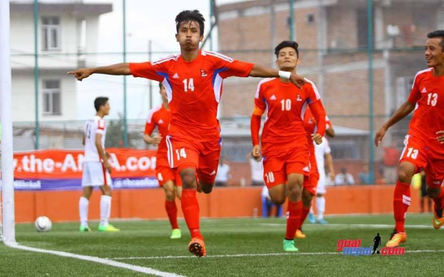 1st SAFF U19 Championship SemiFinal Nepal U19 Vs Afghanistan U19