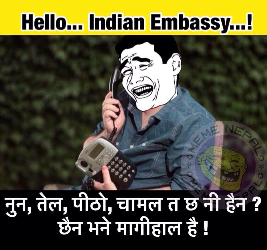 hello indian embassy