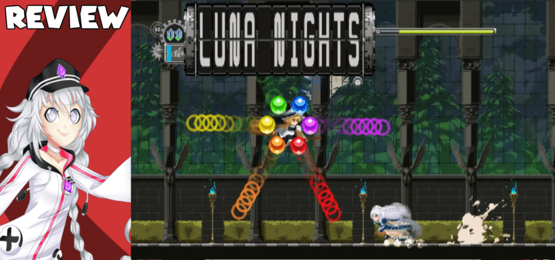 Touhou: Luna Nights – Stopping time is so satisfying