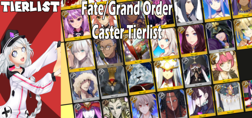 Fate/Grand Order Tierlist: Ranking all Caster servants!