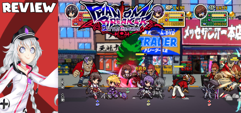 Phantom Breaker: Battle Grounds – Mommy, Japan is being bizarre again