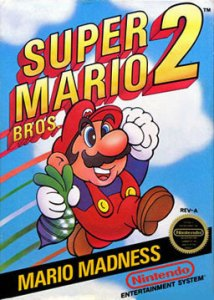 Super Mario Bros 2 cover