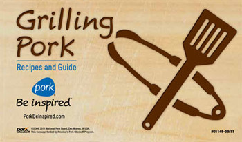 Grilling Pork: Recipes and Guide - 25 Per Pack