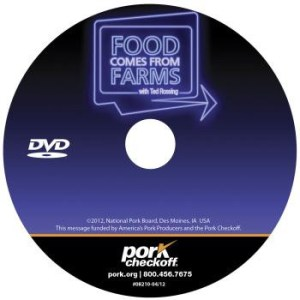 Food Comes From Farms DVD