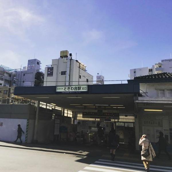 只今、東武東上線ときわ台駅、駅舎改装中【日常】