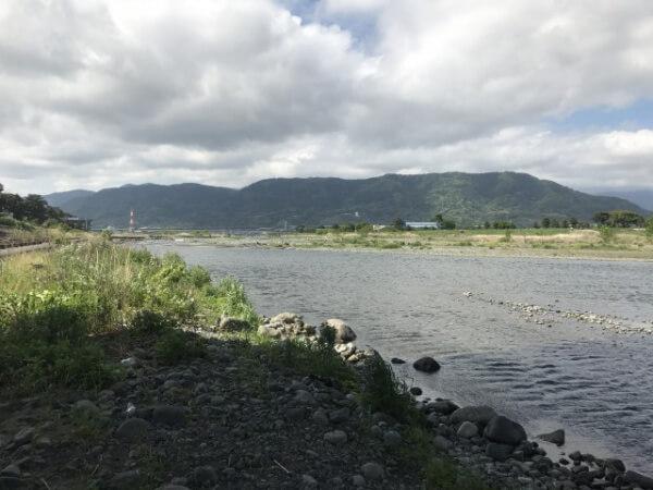 酒匂川河川敷