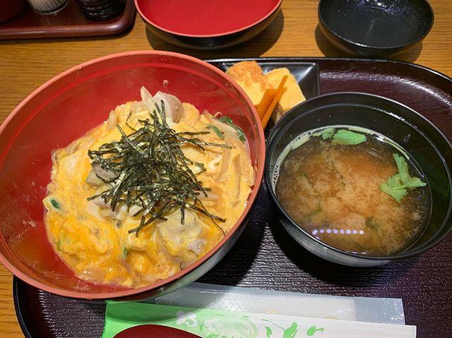 深川太郎のきのこ親子丼
