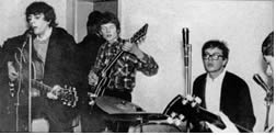 Syd Barrett with his band, Those Without, 1965-01-02