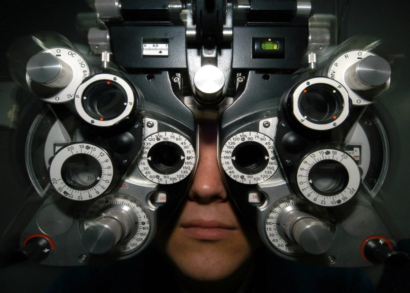 """Ophthalmologists can not cope with the bright yelloe """"eyesore"""""""