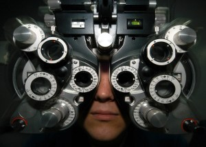 Ophthalmologists can not cope with the bright yelloe