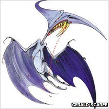 Torydactyl by Gerald Scarfe