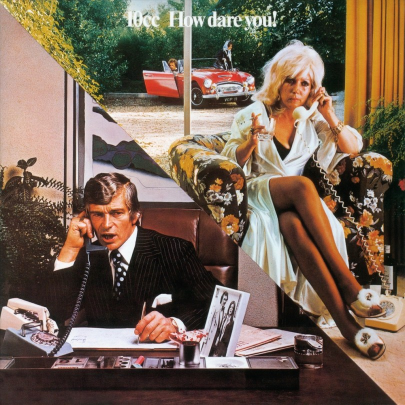 10cc How Dare You cover art from Hipgnosis