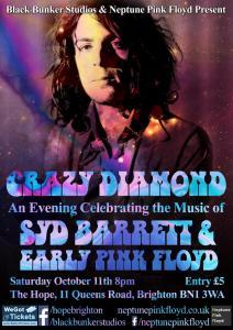 NPF Syd Barrett & Early Pink Floyd Show 2014