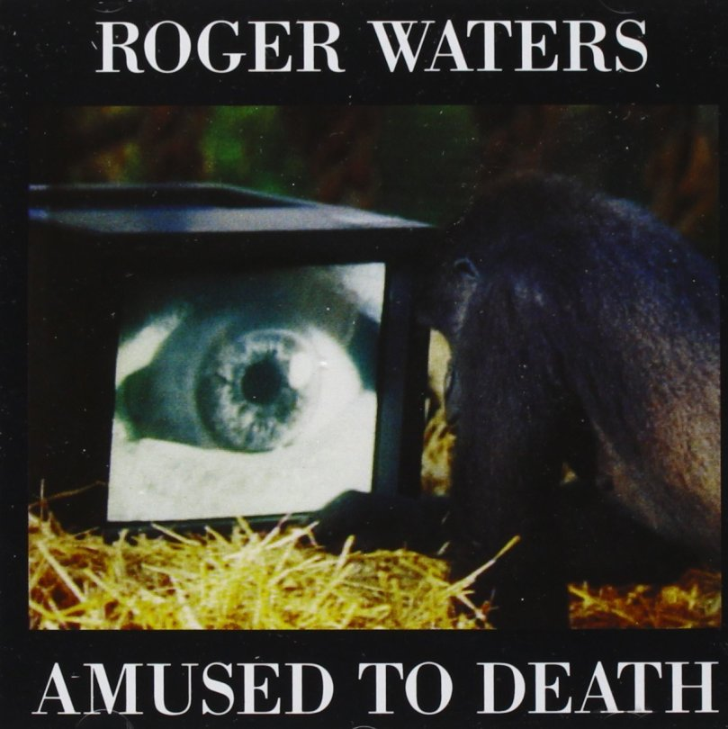 Roger Waters Amused to Death 1992 Cover