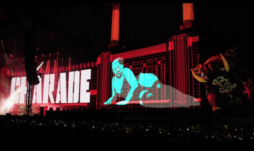 Roger Waters 2017 Tour Donald Trump Mocking
