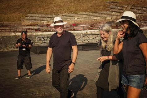 David Gilmour Polly Samson Pompeii 2016