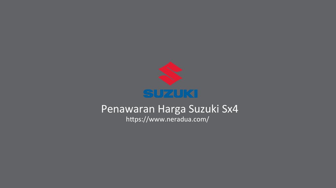 Penawaran Harga Suzuki Sx4