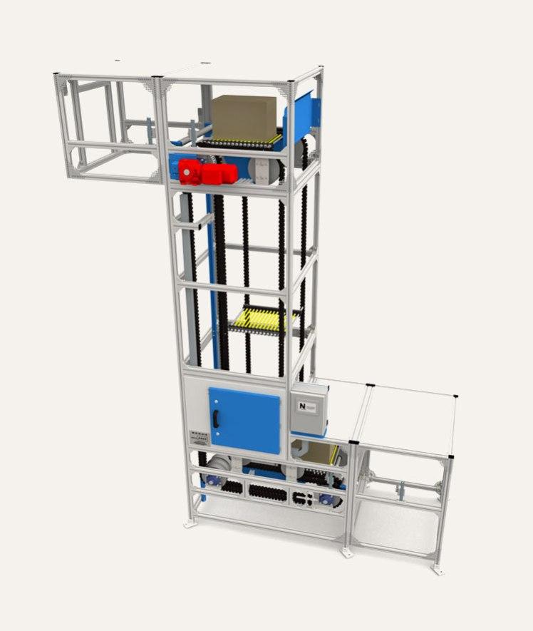 S Shape Platform Elevator | Box Lifter