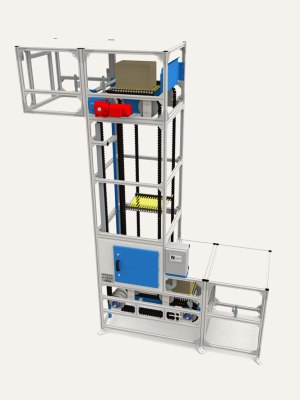 S Shape Platform Elevator | Box Lifter