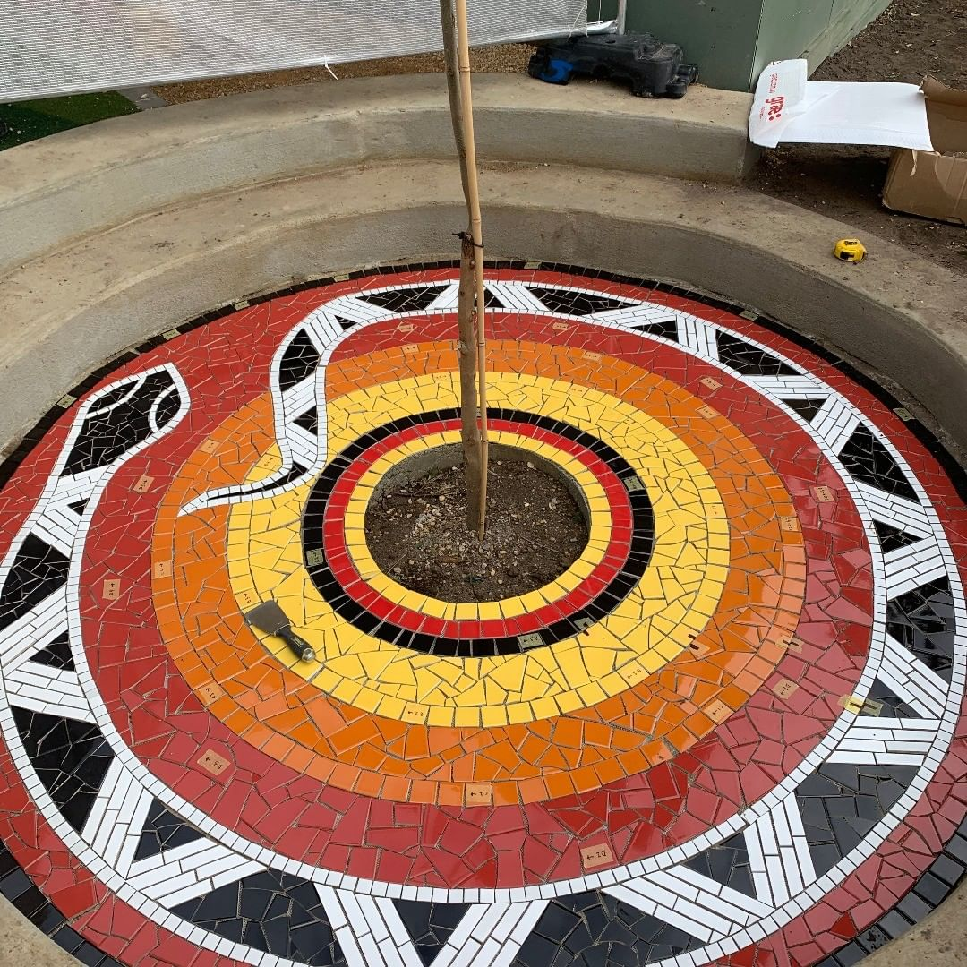 mosaic tile murals floor gold coast