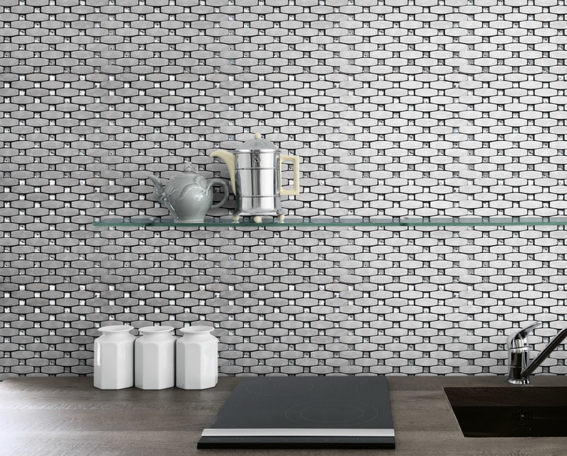 metallic mosaic tiles gold coast tile