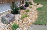 Spring Landscaping Ideas with Mulch and Stone - New ...