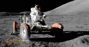 Rasenmähen auf dem Mond