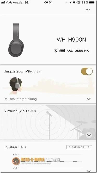 Sony Kopfhörer App