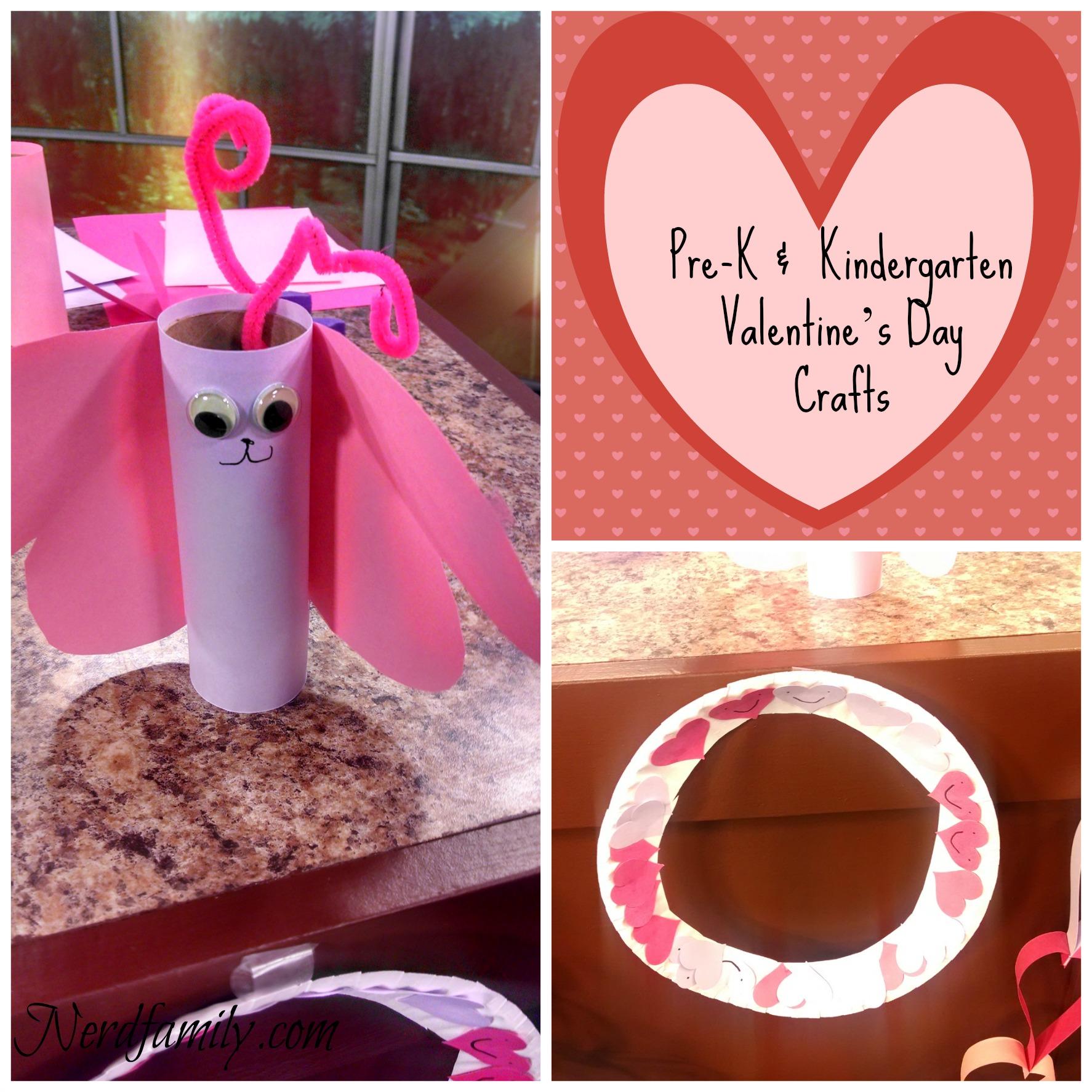 Preschool And Kindergarten Valentine S Day Crafts