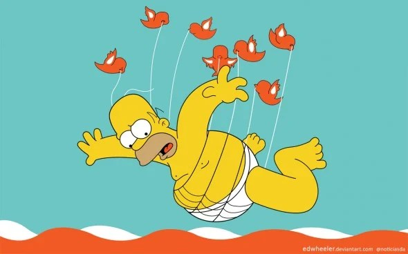 homer simpson twitter fail whale