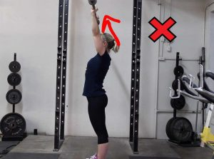 Try to keep the bar path in a straight line, as vertical as possible.