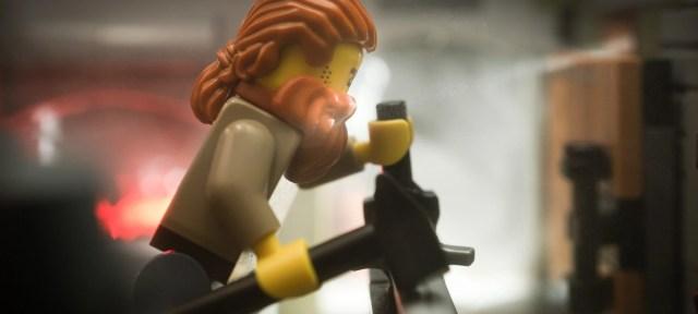 A LEGO Blacksmith