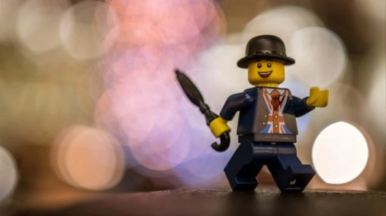 Fancy man lego