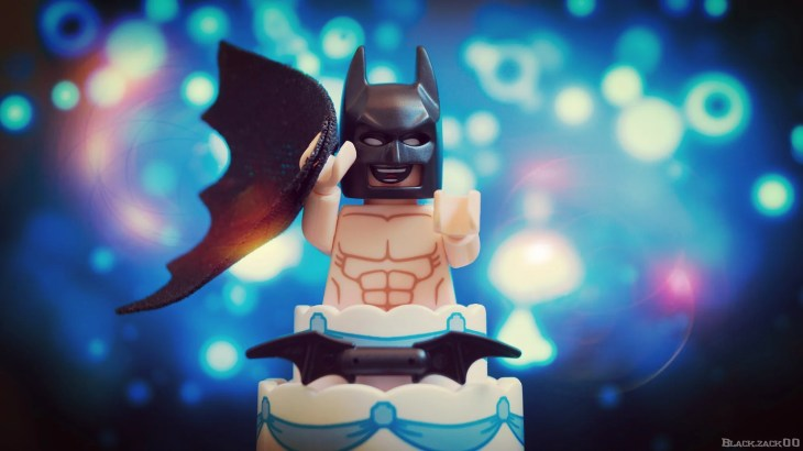 Batman does bodyweight training during the day, At night he's fighting crime, or jumping out of cakes.