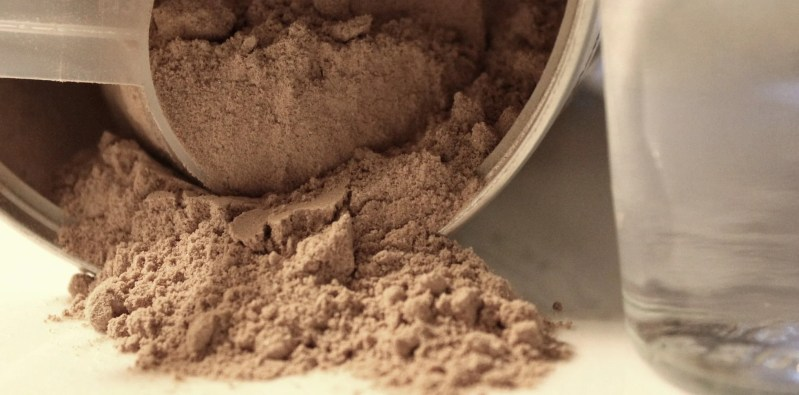If you're trying to build muscle on a plant-based diet, some plant protein powder might be a good idea.
