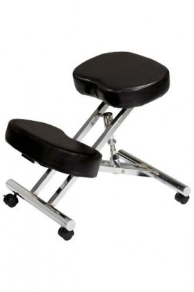 ergonomic chair kneeling review straight back chairs wood the mega on best for bad backs
