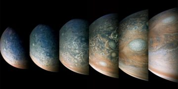 Jupiter as you have never seen it before thanks to these beautiful images of Juno