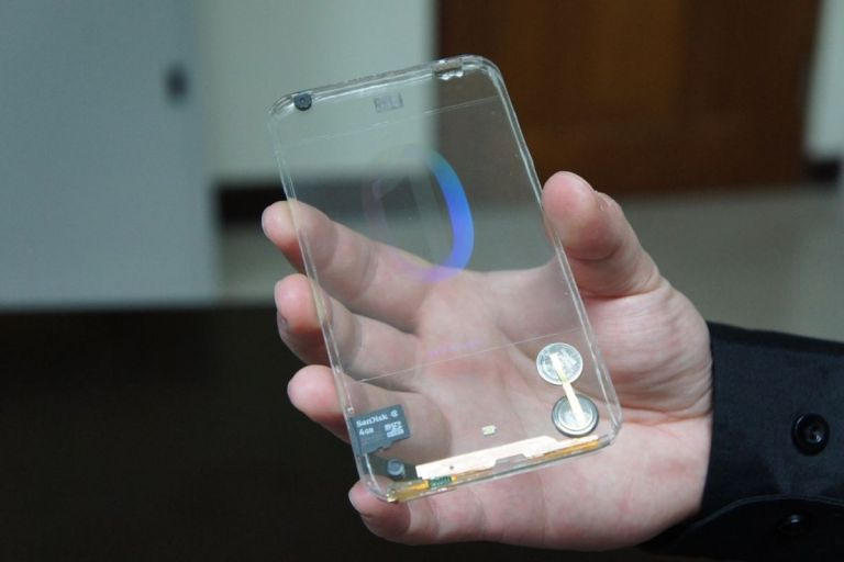 Sony foldable smartphone could employ transparent displays