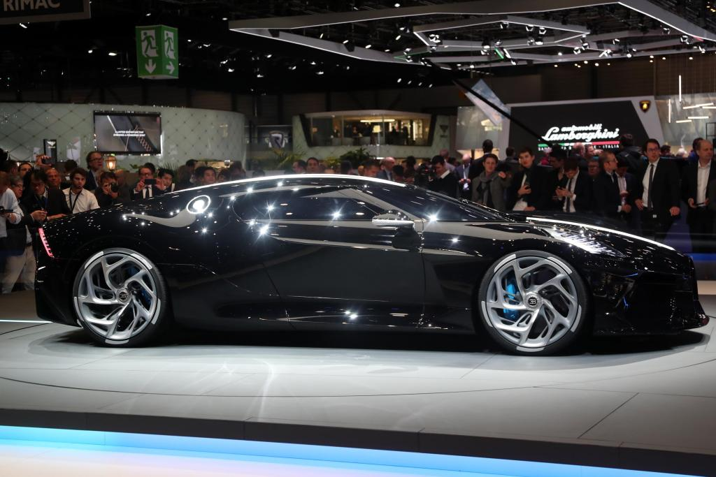 This Bugatti costs 12.5 million dollars and is the most expensive new car in history