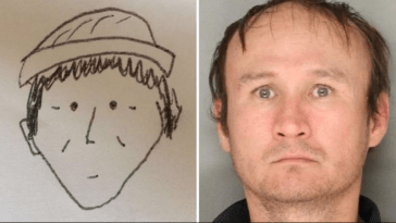 They catched the thief with this drawing