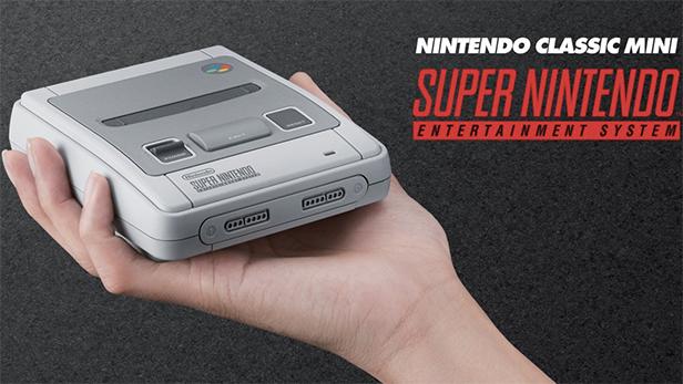 in arrivo il Super Nintendo Mini