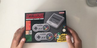 unboxing dello SNES Mini Classic Edition