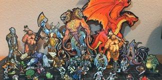 stampare gratis le miniature per i vostri RPG