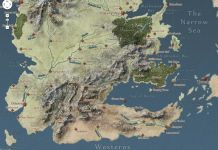 Game of Thrones su Google Maps