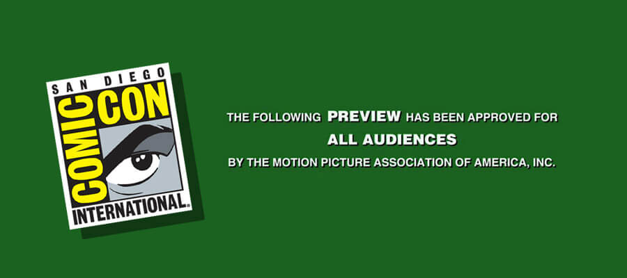San Diego ComicCon Trailer