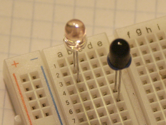 Basic Phototransistor Detector Measuringandtestcircuit Circuit